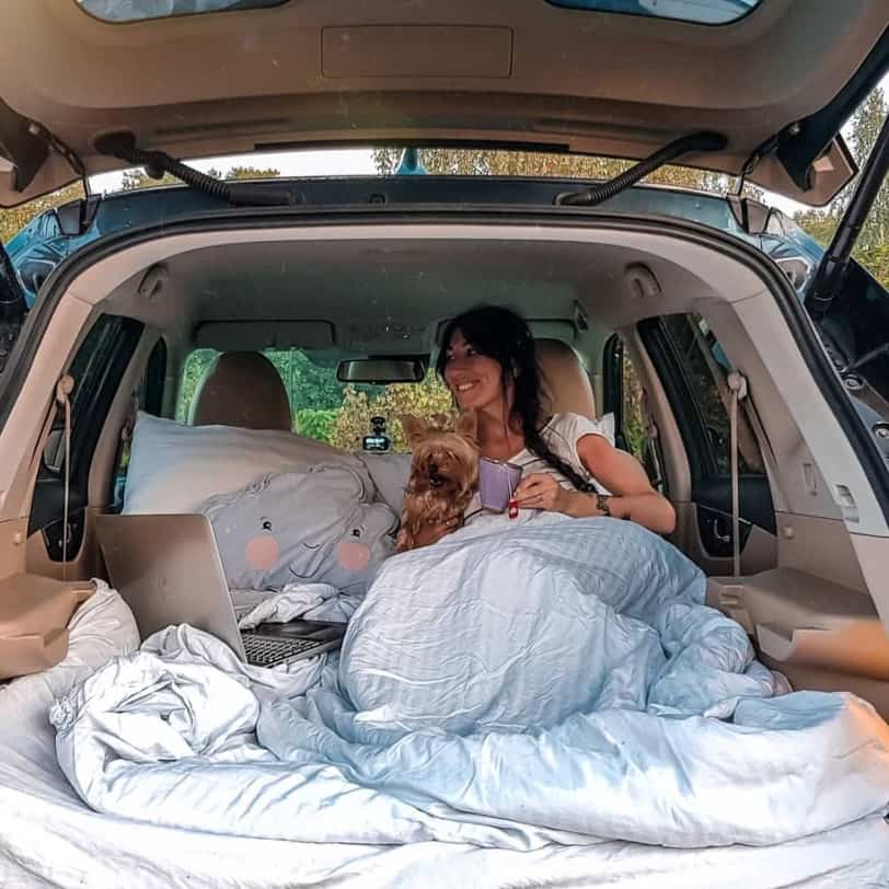 Can you sleep in your car in Byron Bay?
