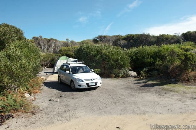Friendly Beaches Campground in Freycinet National Park