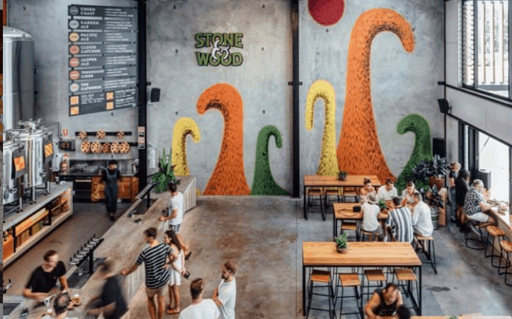 things to do in byron - stone wood brewery