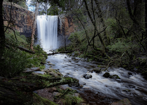 trentham falls - best waterfalls of victoria