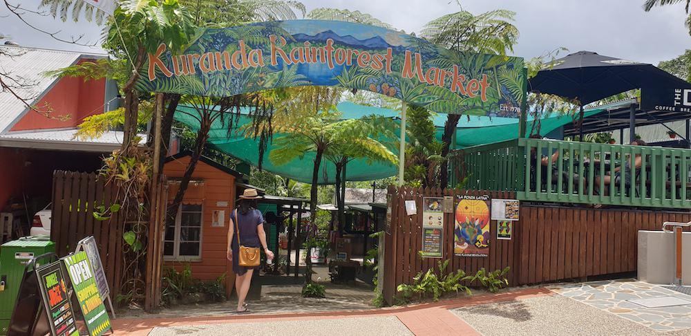 kuranda market - palm cove holiday