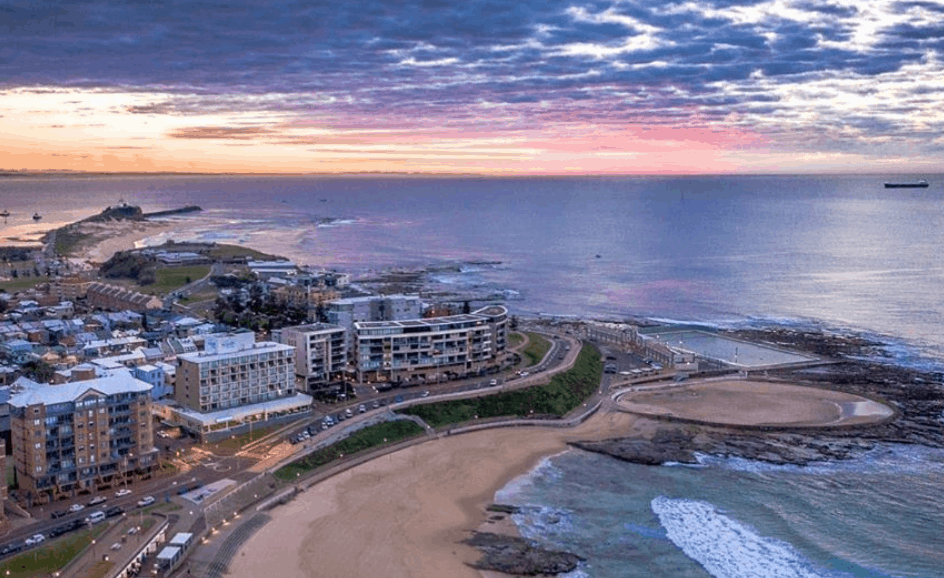 best australian christmas holiday destinations - newcastle