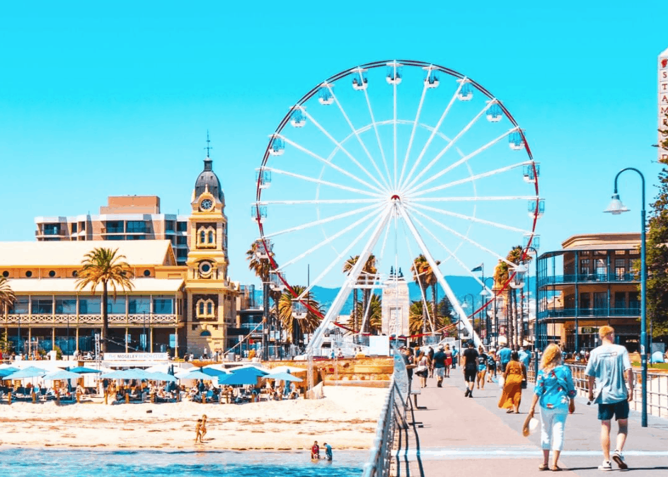 best australian christmas holiday destinations - glenelg