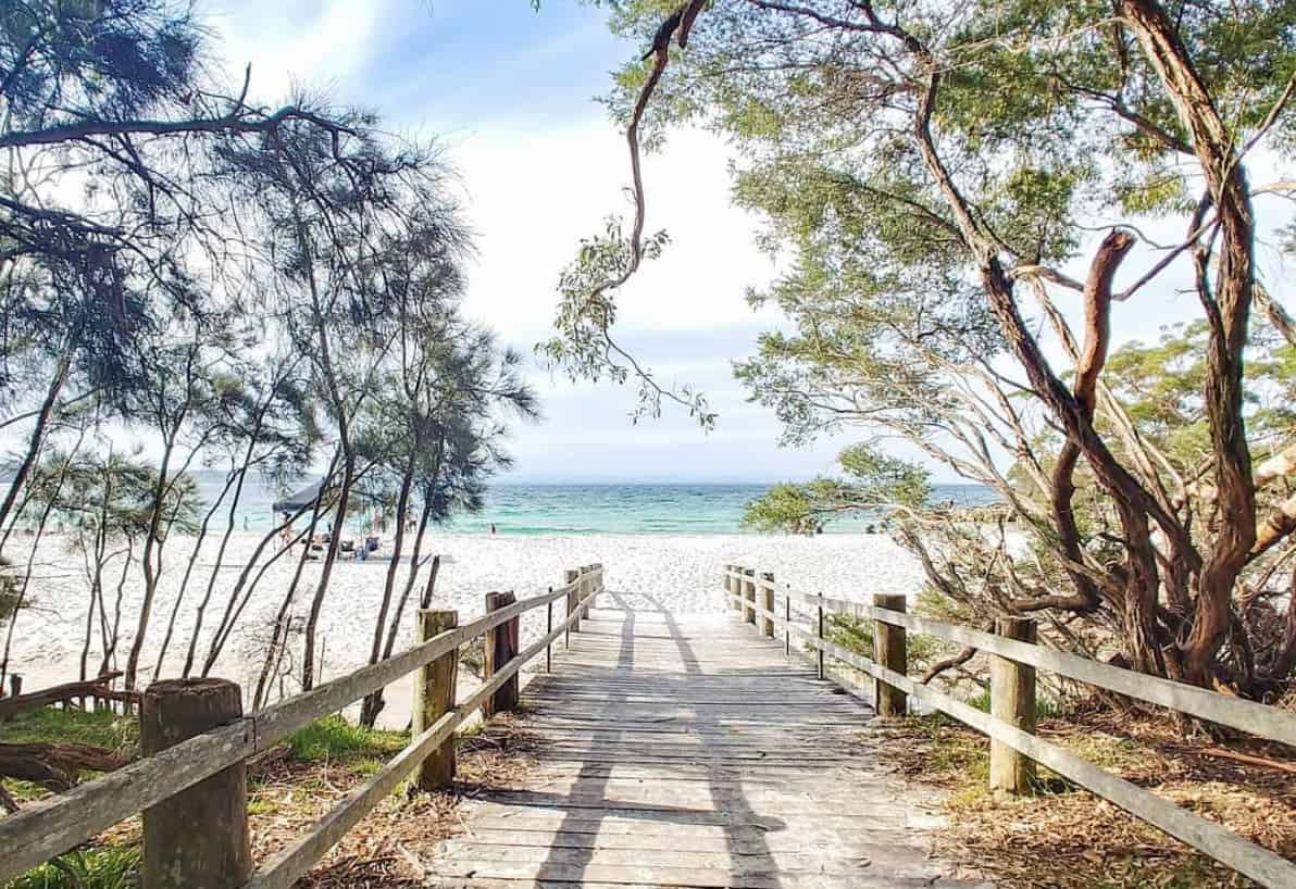 camping jervis bay