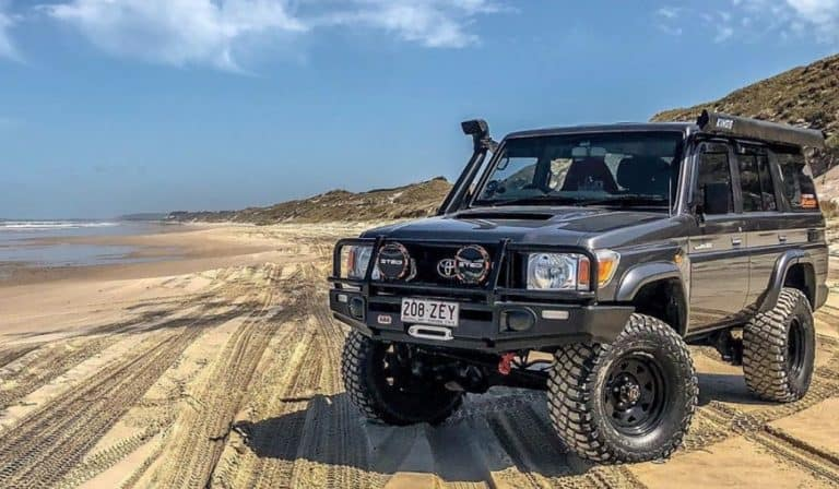 What is the towing capacity Australian vehicles?