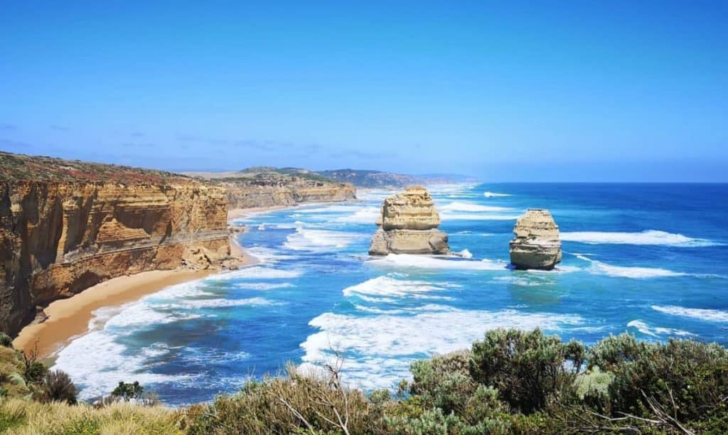 free camping on Great Ocean Road
