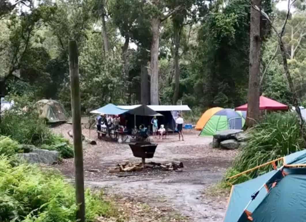 Bristol Point Camping Ground
