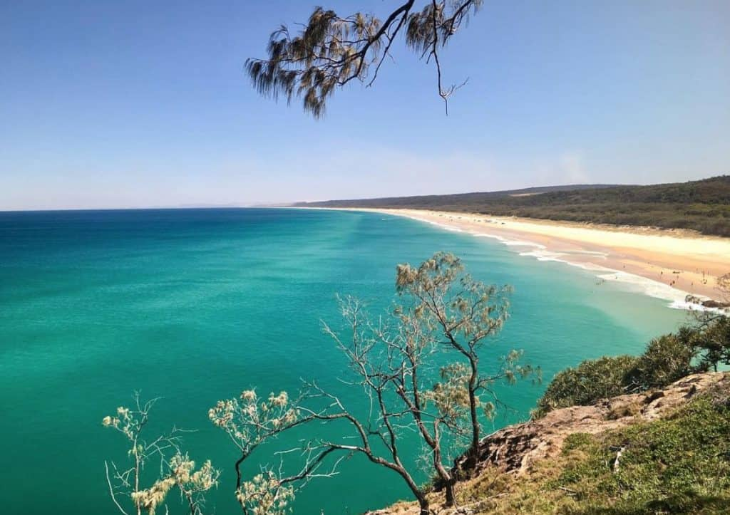 Beach Camping South east Queensland