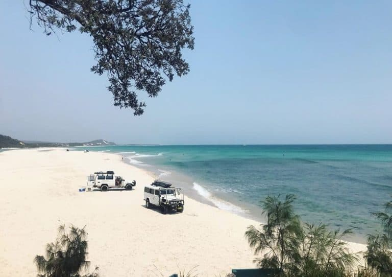 North-west camping zone Moreton Island National Park