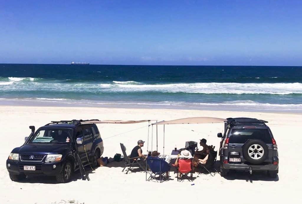 Beach Camping Near Brisbane