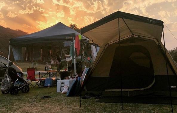boomerang beach camping
