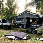 cheap camper trailer tents only