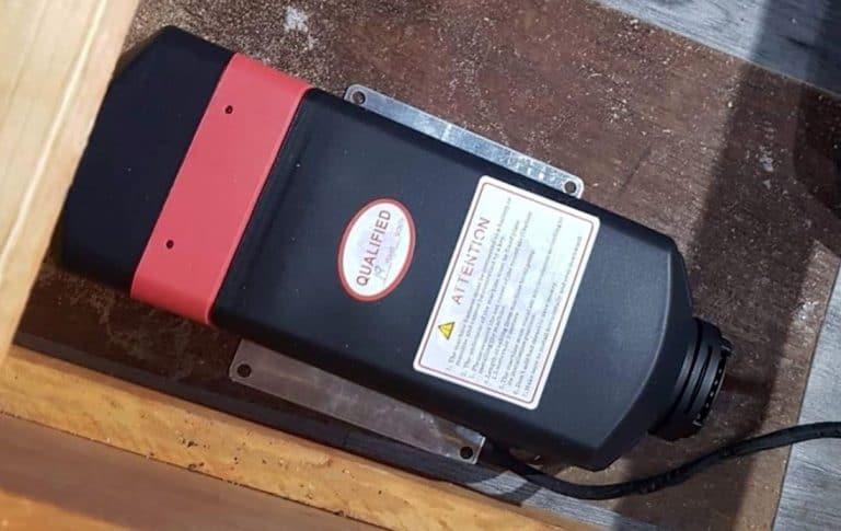 What is the cost to install diesel heater in caravan?