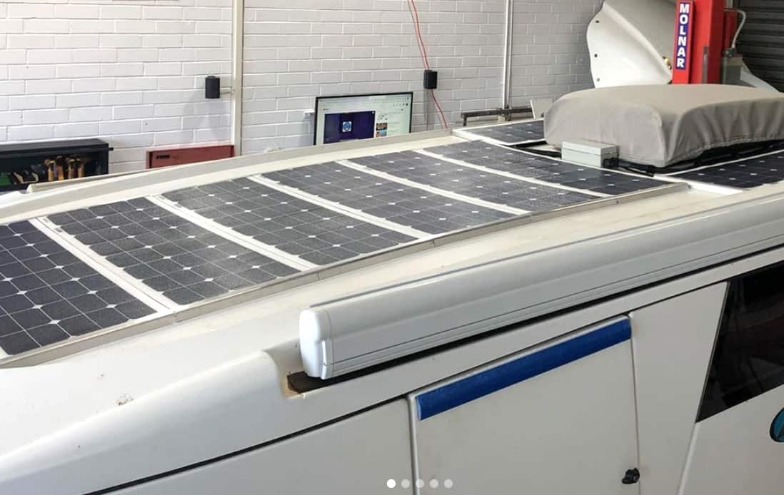 Solar Panels for Caravan Roofs