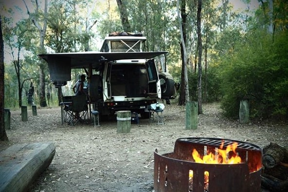 blackdown tablelands camping