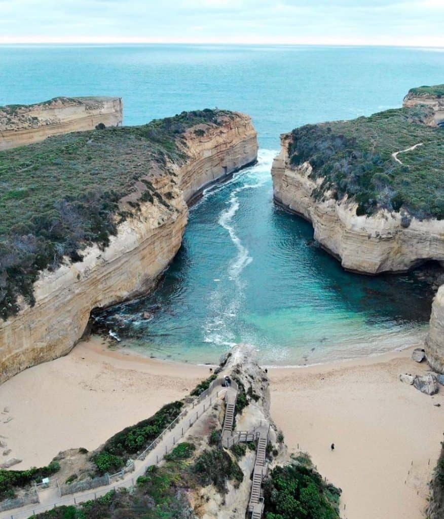 Where does the Great Ocean Road Start