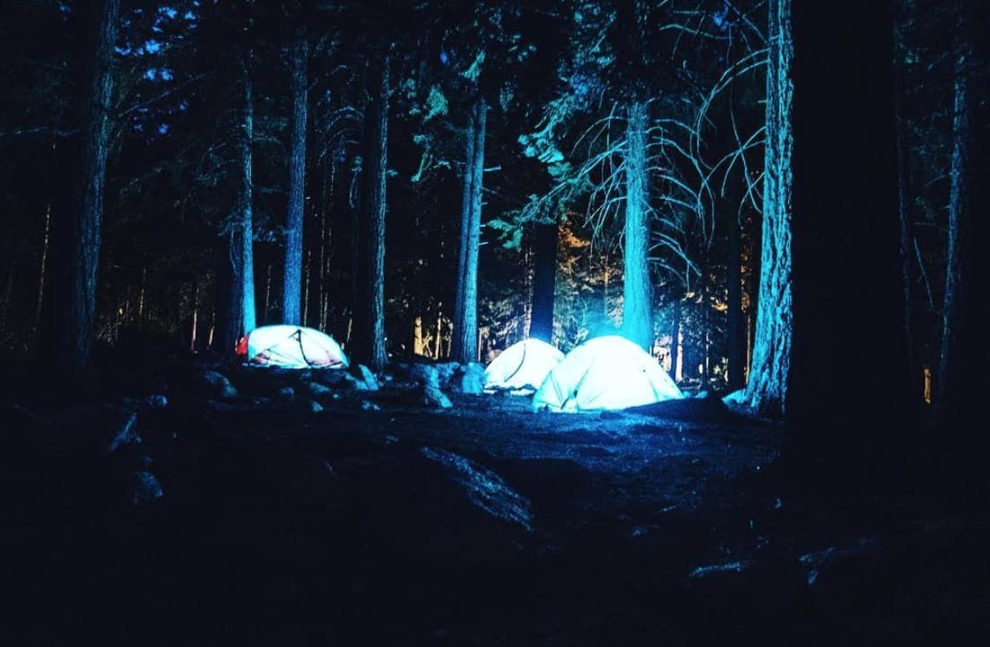 Where can you camp for free in Victoria