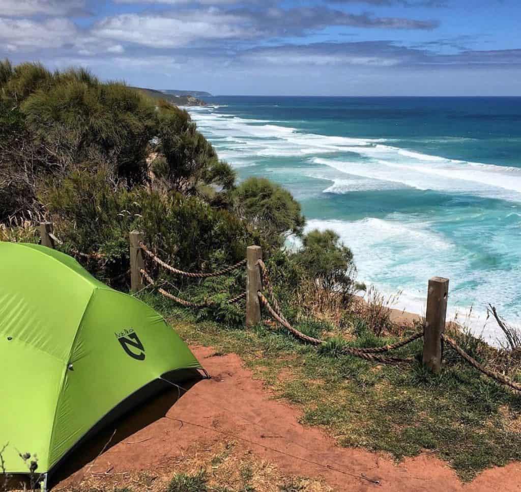 Beach Camping Victoria - johanna beach