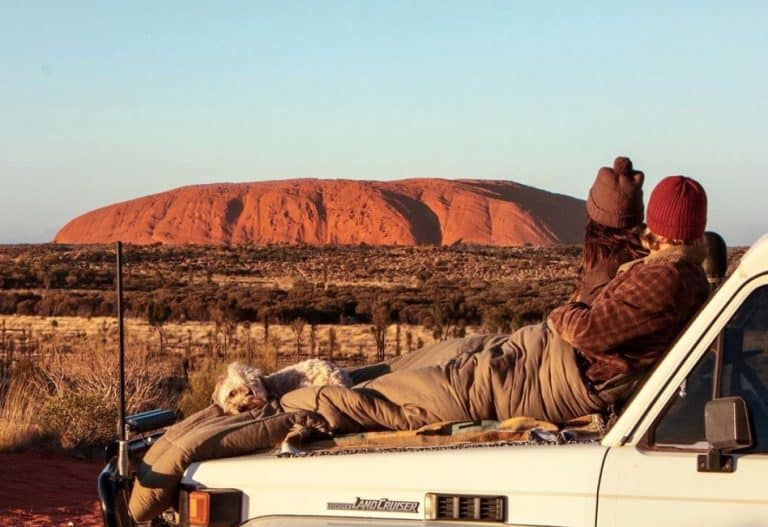Free Camping Uluru (Ayers Rock)