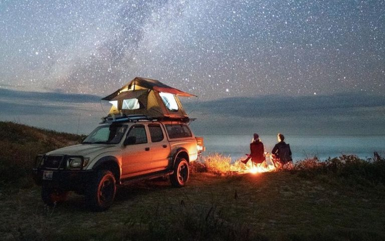 What can you use a generator for when camping?