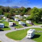 How much is it to stay in a caravan park