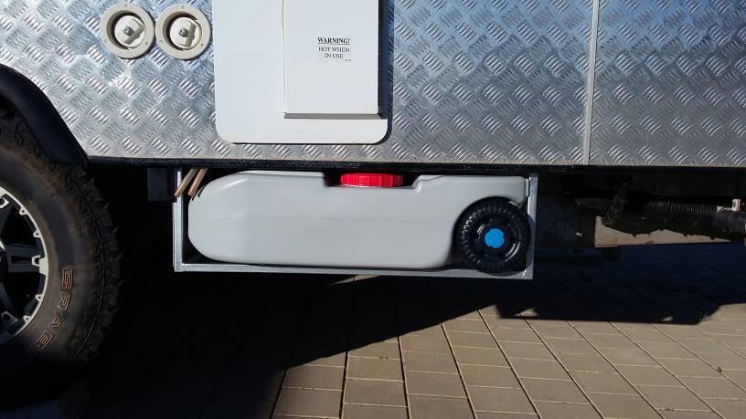How to clean caravan water tank?