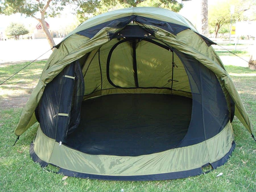 how to fold up pop up tent
